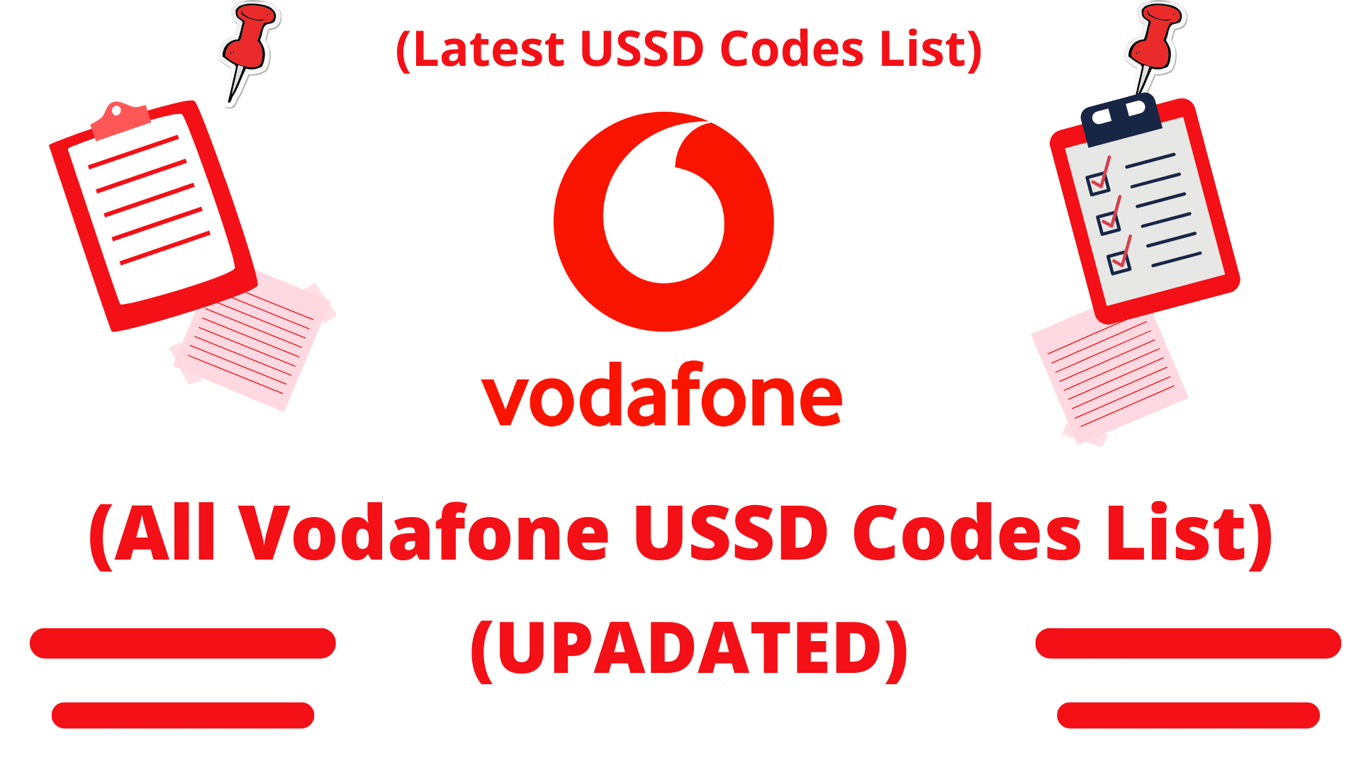Vodafone USSD Codes List