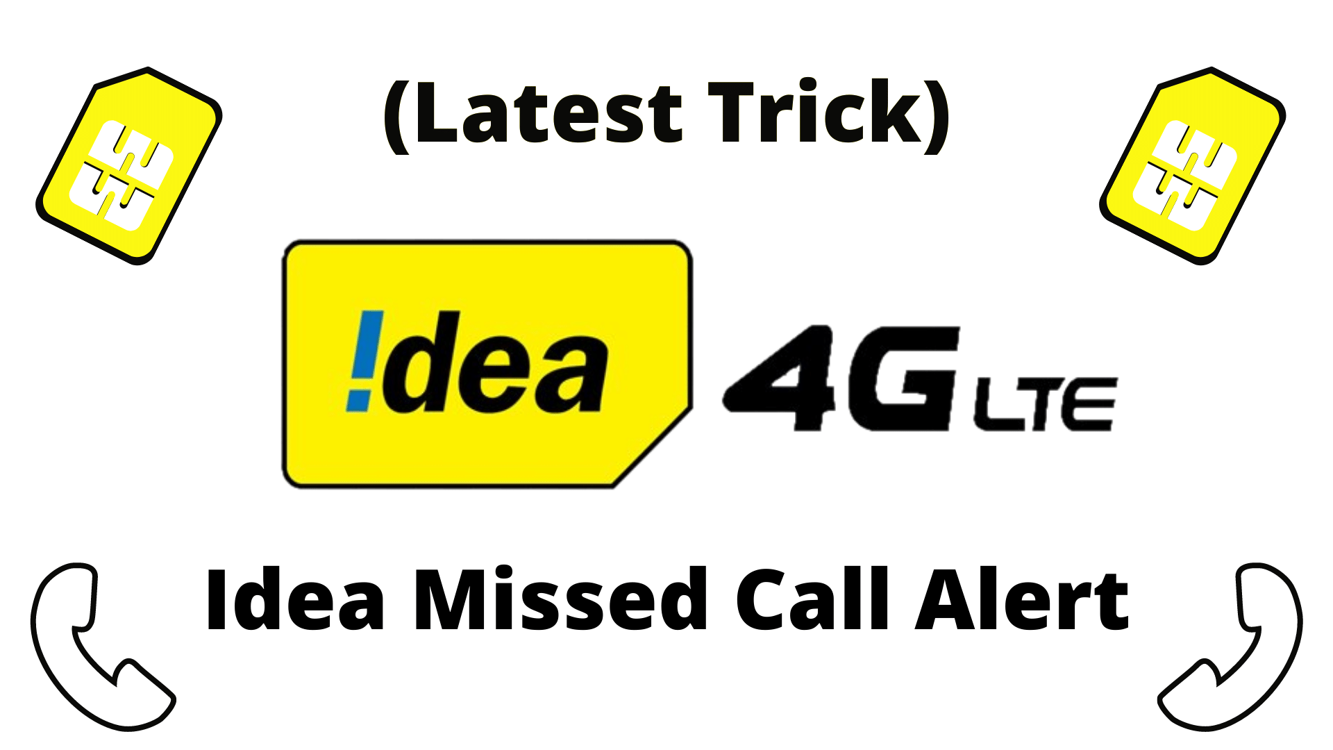 Idea Missed Call Alert Service Activate and Deactivate (2020)
