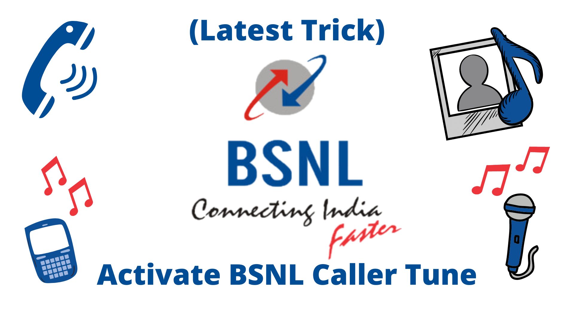 Activate and Deactivate BSNL Caller Tune Service