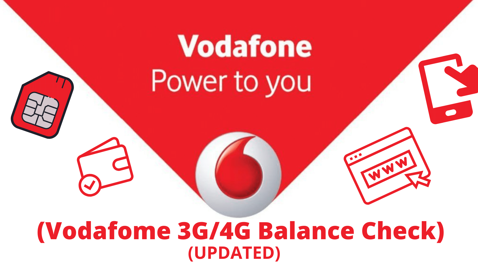 how to check vodafone data