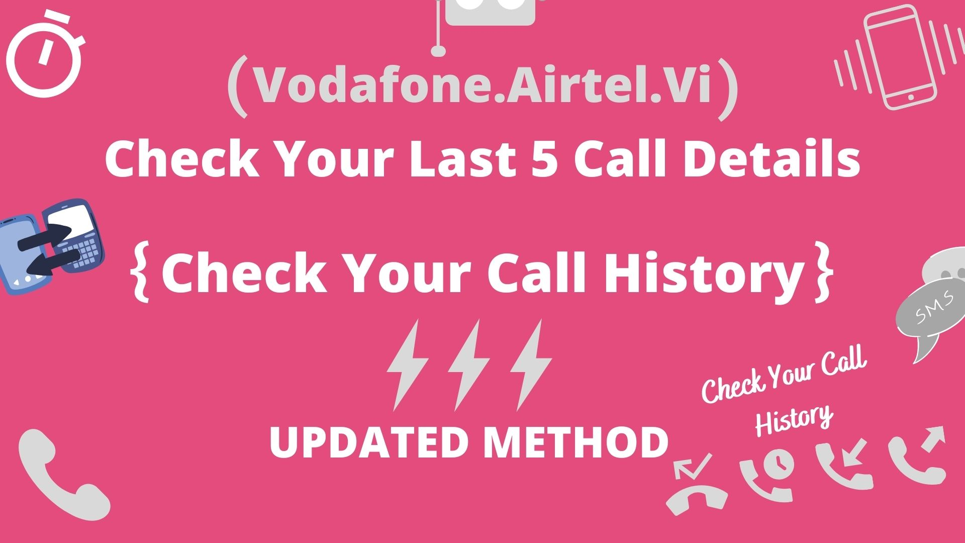 Check Last 5 Call Details Of Any Network