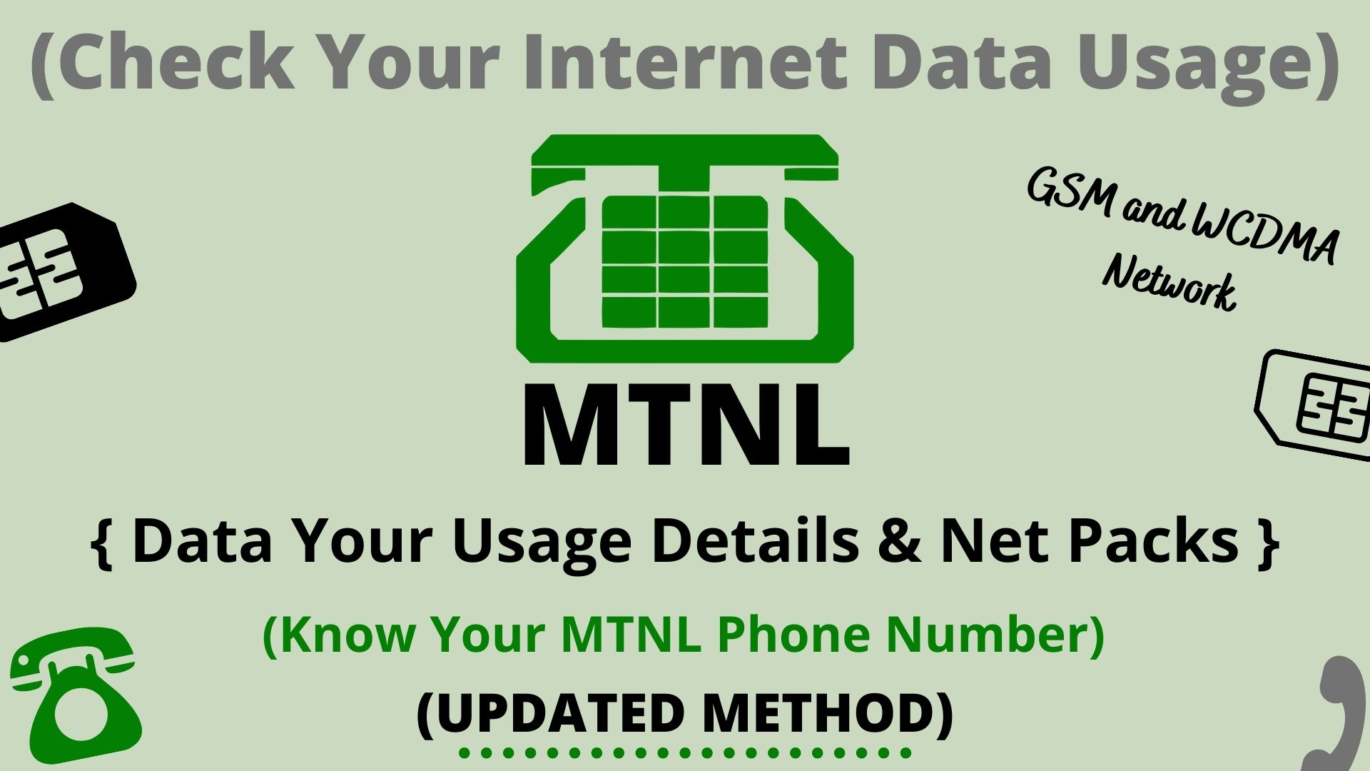 Check Your Internet Data Usage