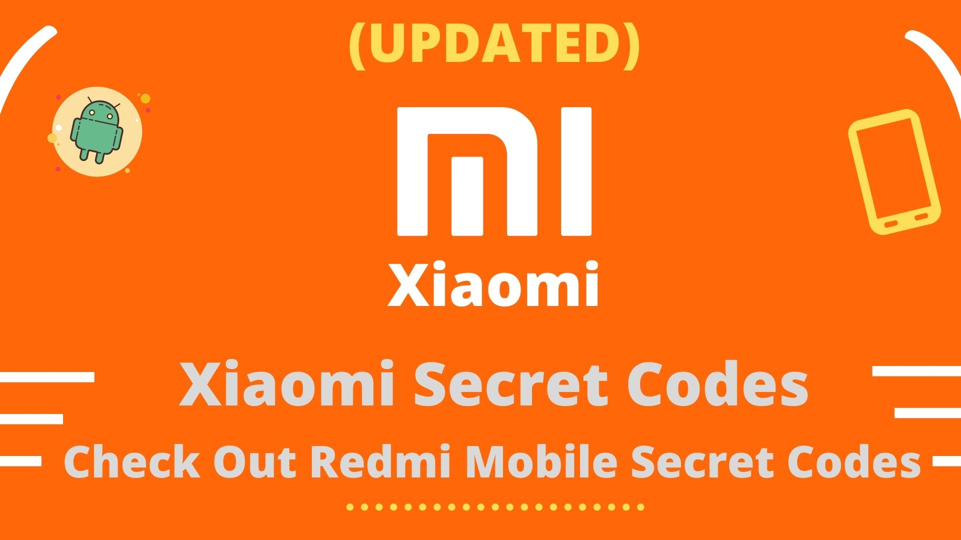 AlXiaomi Secret Codes List
