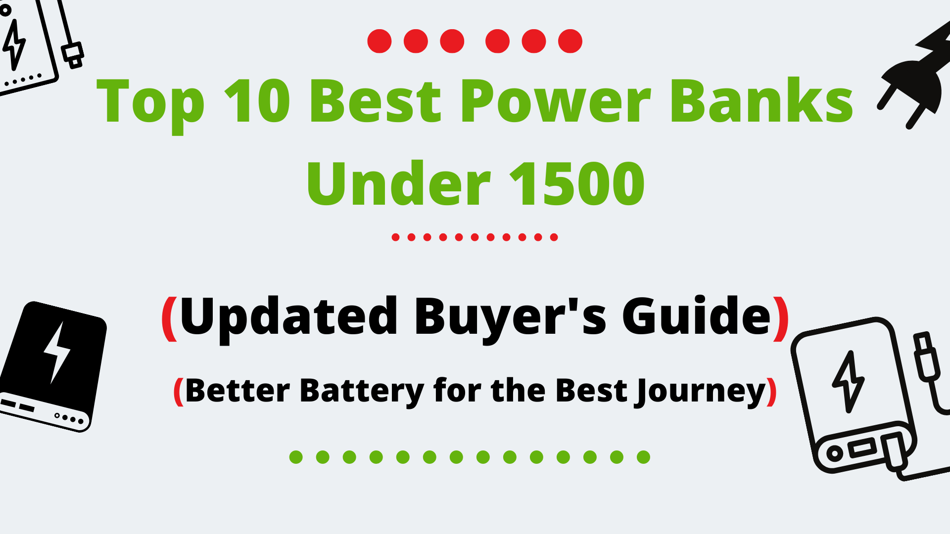 Best Power Banks Under 1500